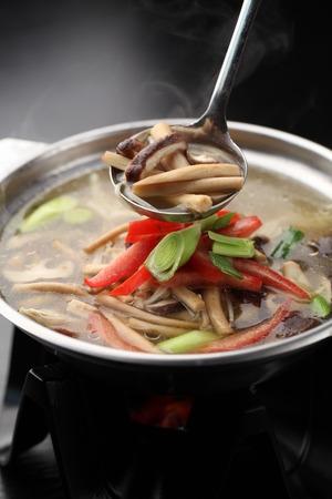 44431478 - mushroom soup
