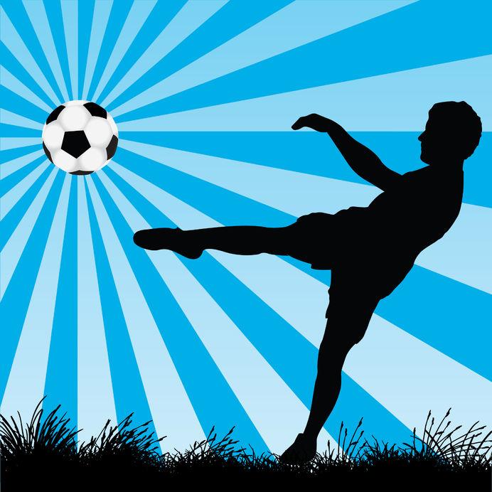 7643875 - soccer player